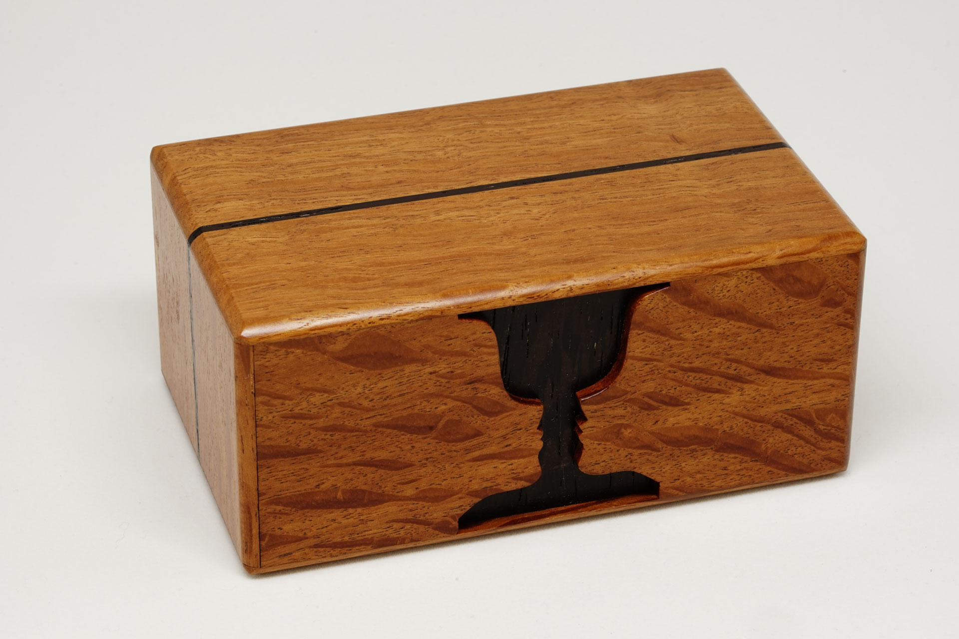 Goblet Secret Box silky oak